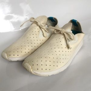 Native Apollo Shoes Sneakers Off White Moc Suede